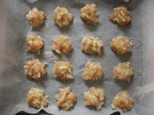 Шарики из курочки в соусе «Аппетитная»
