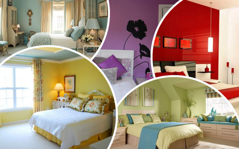 Как выбрать цвет стен для спальни