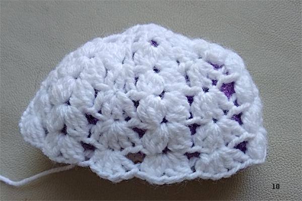 Как связать крючком женскую осеннюю шапочку (11)