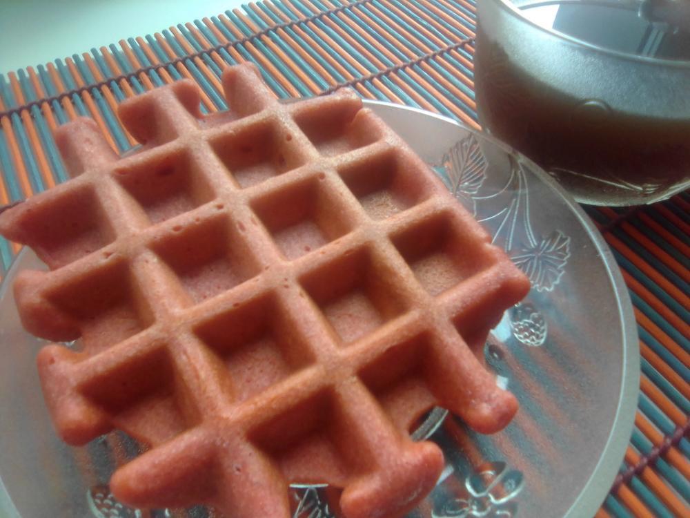 Мягкие домашние вафли (9)