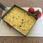 Омлет с йогуртом, брынзой, куркумой и мятой (1)