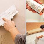 Шпатлевка, герметик, клей: различия и назначение
