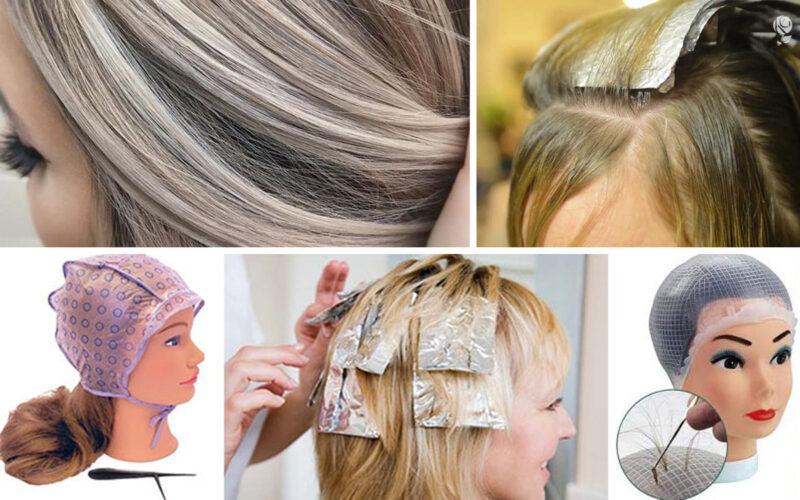 Способы мелирования волос в домашних условиях