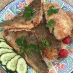 Филе сайды, приготовленное в сковороде