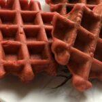 Мягкие домашние вафли «Красный бархат»