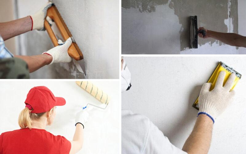 подготовка поверхностей к ремонту