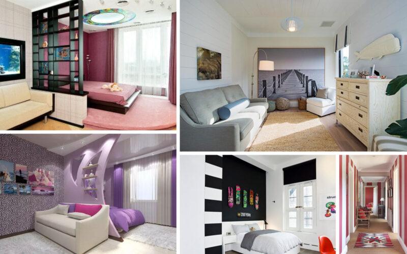Приёмы дизайна комнат