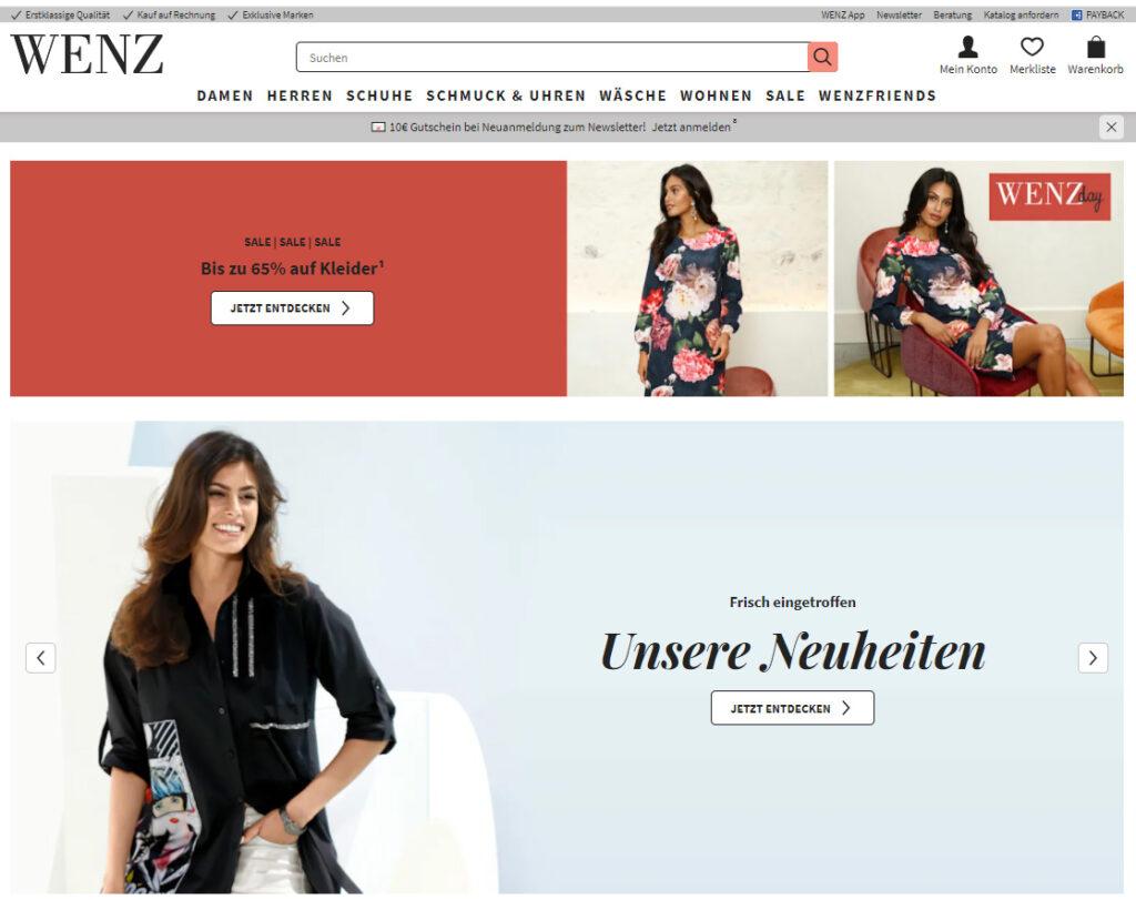 Интернет-магазин WENZ